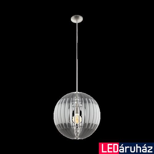 EGLO 96973 OLMERO Fa függesztett lámpa, 50cm, szürke/fehér, E27 foglalattal