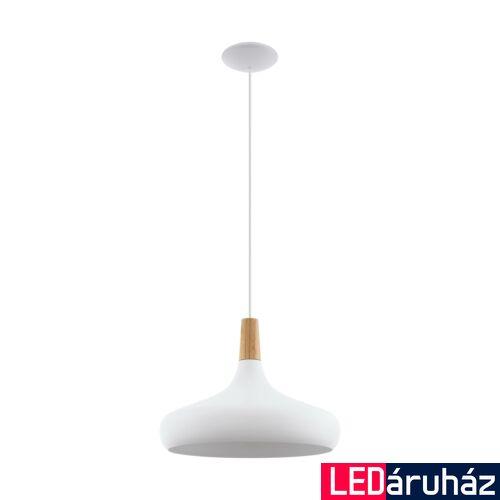 EGLO 96983 SABINAR 1 ágú függeszték, barna, E27 foglalattal, IP20 + ajándék LED fényforrás
