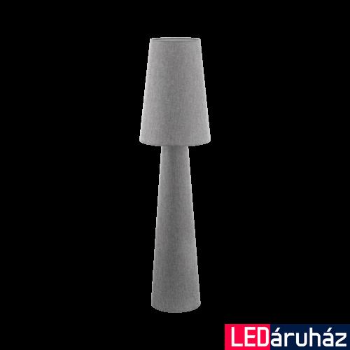 EGLO 97138 CARPARA Szürke állólámpa, 2 db. E27 foglalattal, 143cm magas, 2x60W