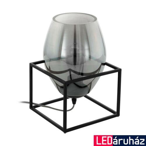 EGLO 97209 OLIVAL 1 asztali lámpa, kapcsolóval, fekete, E27 foglalattal, max. 1x40W, IP20
