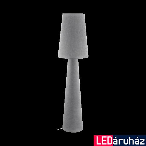 EGLO 97232 CARPARA Szürke állólámpa, 2 db. E27 foglalattal, 173cm magas, 2x60W