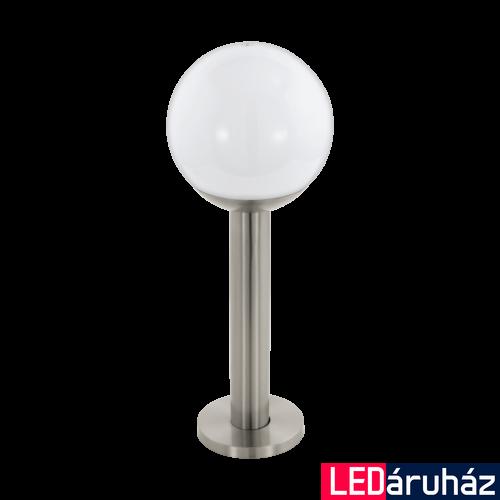 EGLO 97248 NISIA-C kültéri állólámpa, rozsdamentes acél (inox), E27 foglalattal, IP44 + ajándék LED fényforrás
