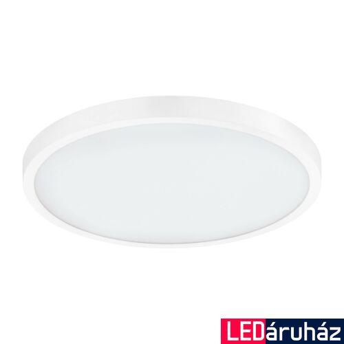 EGLO 97266 FUEVA 1 LED panel, fehér, kör, 2600 lm, 4000K természetes fehér, beépített LED, 22,3W, IP20, 400mm átmérő