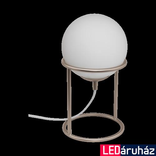 EGLO 97332 CASTELLATO 1 Pezsgőszín asztali lámpa, E14 foglalattal, 28cm magas, 1x28W