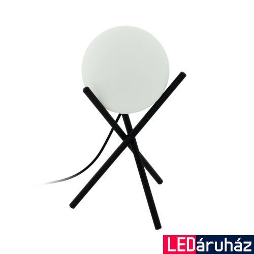 EGLO 97333 CASTELLATO asztali lámpa, kapcsolóval, fekete, E14 foglalattal, max. 1x28W, IP20