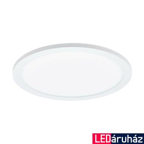EGLO 97501 SARSINA LED panel, fehér, kör, 2100 lm, 4000K természetes fehér, beépített LED, 17W, IP20, 300mm átmérő