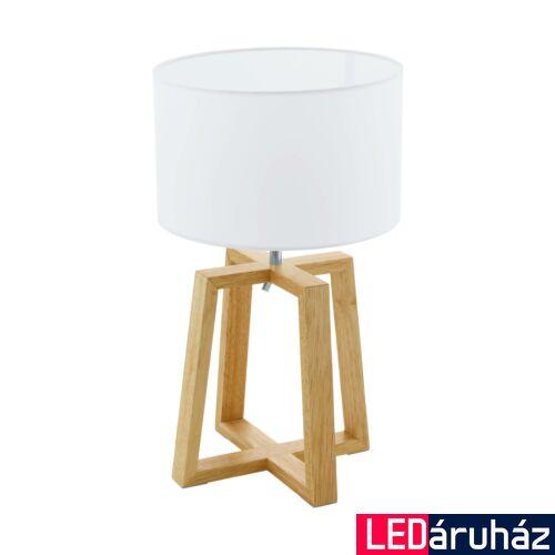 EGLO 97516 CHIETINO 1 Fehér asztali lámpa, E27 foglalattal, 44cm magas, max. 1x60W + ajándék LED fényforrás