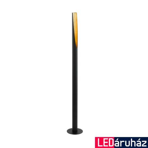 EGLO 97584 BARBOTTO állólámpa, kapcsolóval, fekete, GU10 foglalattal, max. 1x4,5W, IP20