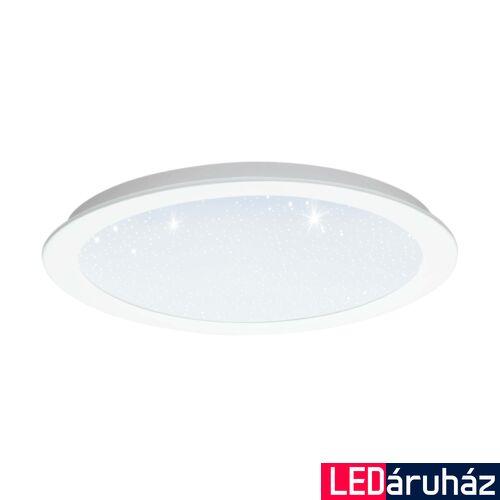EGLO 97594 FIOBBO LED panel, fehér, kör, 2500 lm, 3000K melegfehér, beépített LED, 21W, IP20, 300mm átmérő