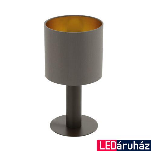 EGLO 97686 CONCESSA 1 Barna asztali lámpa, E27 foglalattal, 30cm magas, 1x60W + ajándék LED fényforrás