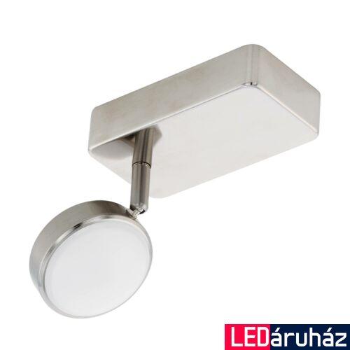 EGLO 97714 CORROPOLI-C spotlámpa, nikkel, 1X5W, 600 lm, 2700K-6500K szabályozható, fényerő szabályozható, beépített LED, IP20