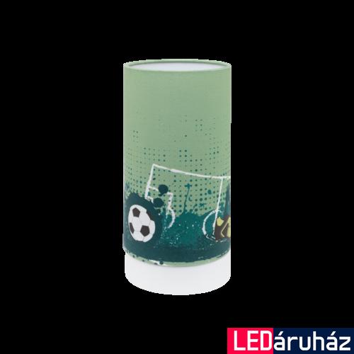 EGLO 97763 TABARA Színes asztali LED lámpa, gyermekeknek, 25,5cm magas, 6W, 3000K melegfehér, 540lm