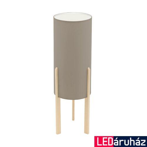 EGLO 97894 CAMPODINO Barna asztali lámpa, E27 foglalattal, 50cm magas, max. 1x60W + ajándék LED fényforrás