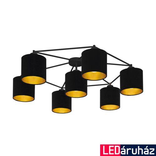 EGLO 97895 STAITI mennyezeti lámpa, fekete, E27 foglalattal, max. 7x40W, IP20