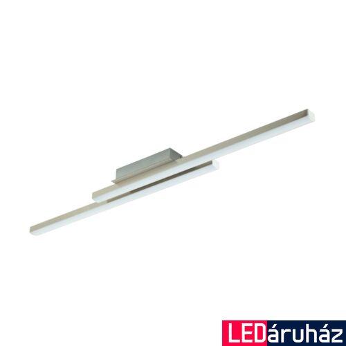 EGLO 97906 FRAIOLI-C mennyezeti lámpa, nikkel, 2X17W, 4600 lm, 2700K-6500K szabályozható, fényerő szabályozható, beépített LED, IP20