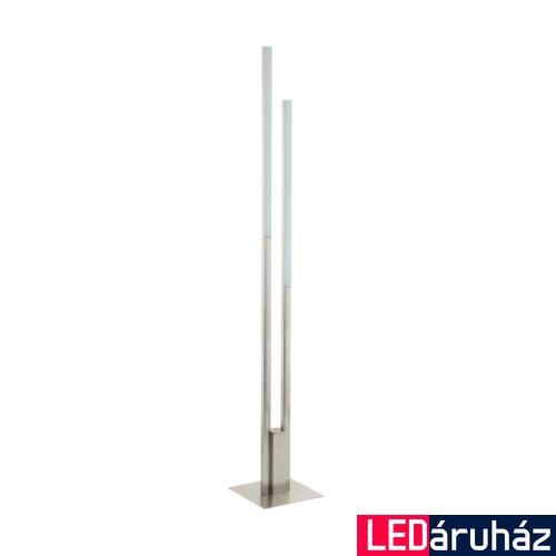 EGLO 97908 FRAIOLI-C állólámpa, kapcsolóval, nikkel, 2X17W, 4600 lm, 2700K-6500K szabályozható, fényerő szabályozható, beépített LED, IP20
