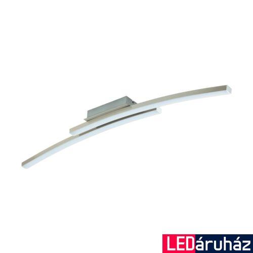 EGLO 97909 FRAIOLI-C mennyezeti lámpa, nikkel, 2X17W, 4600 lm, 2700K-6500K szabályozható, fényerő szabályozható, beépített LED, IP20