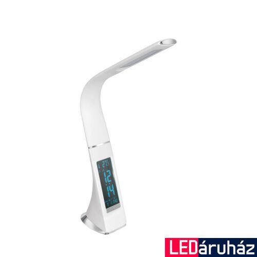 EGLO 97915 COGNOLI asztali lámpa, kapcsolóval, fehér, 300 lm, 5000K természetes fehér, beépített LED, 3,2W, IP20