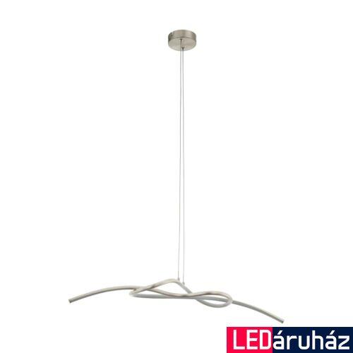 EGLO 97938 NOVAFELTRIA 1 ágú függeszték, nikkel, 1600 lm, 3000K melegfehér, beépített LED, 16W, IP20