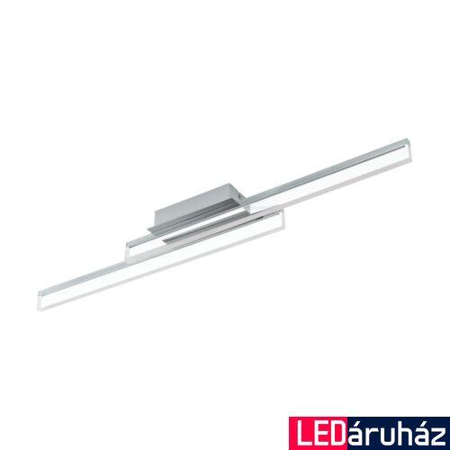 EGLO 97965 PALMITAL fürdőszobai fali/mennyezeti lámpa, króm, 2600 lm, 3000K melegfehér, beépített LED, 2x10W, IP44