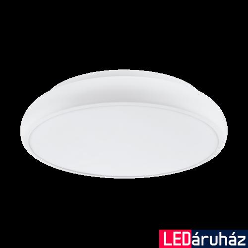 EGLO 98045 RIODEVA-C Connect smart mennyezeti LED lámpa, RGBW, 44,5cm átmérő, 10,5cm mélység 3400lm, 27W, fehér, műanyag