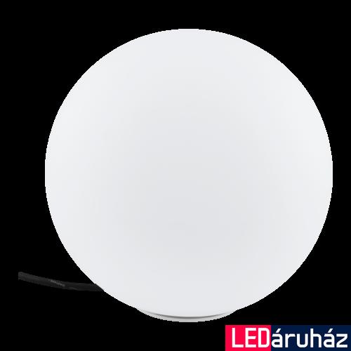 EGLO 98101 MONTEROLO kültéri fehér gömb E27 foglalattal, IP65 30cm átmérő + ajándék LED fényforrás