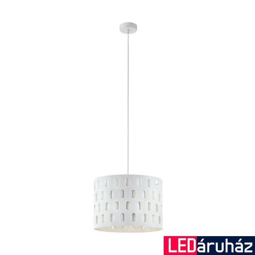 EGLO 98274 RONSECCO több ágú függeszték, fehér, E27 foglalattal, IP20 + ajándék LED fényforrás