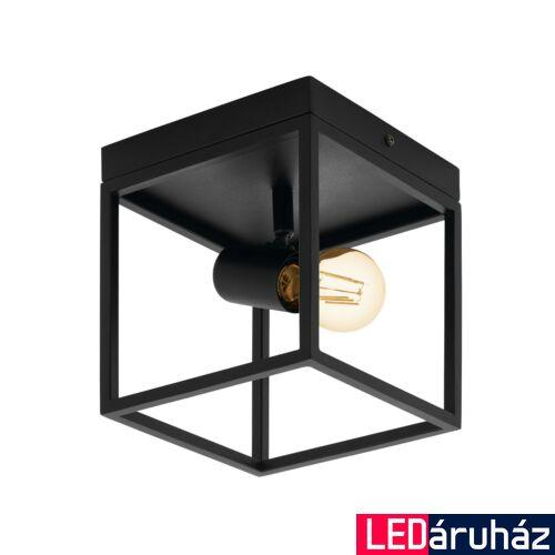EGLO 98331 SILENTINA mennyezeti lámpa, fekete, E27 foglalattal, max. 1x40W, IP20