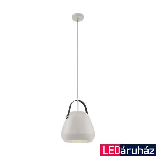 EGLO 98348 BEDNALL Függesztett lámpa, szürke, fekete, E27 foglalattal, 29x110cm + ajándék LED fényforrás