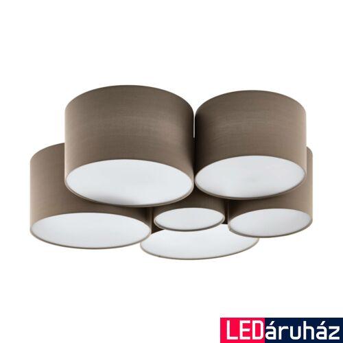 EGLO 98409 PASTORE 1 mennyezeti lámpa, szürke, E27 foglalattal, max. 6x40W, IP20