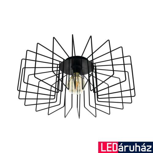 EGLO 98507 TREMEDAL fekete, mennyezeti lámpa, E27 foglalattal, 56x21,5cm + ajándék LED fényforrás