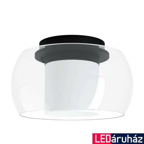 EGLO 99022 BRIAGLIA-C mennyezeti lámpa, fekete, 24,8W, 3150 lm, 2700K-6500K szabályozható, beépített LED, IP20 + ajándék LED panel