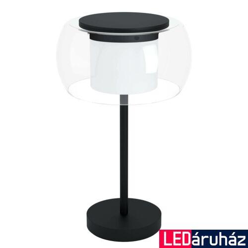EGLO 99024 BRIAGLIA-C asztali lámpa, fekete, 15W, 1850 lm, 2700K-6500K szabályozható, beépített LED, IP20 + ajándék LED panel