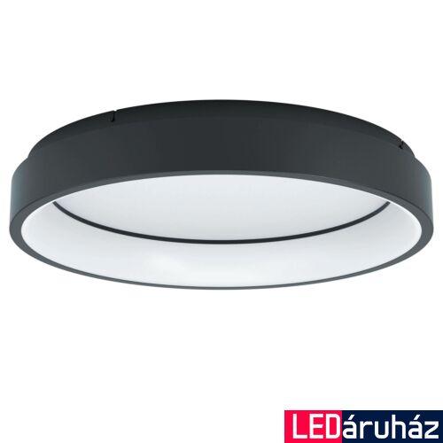 EGLO 99026 MARGHERA-C mennyezeti lámpa, fekete, 27W, 3200 lm, 2700K-6500K szabályozható, beépített LED, IP20 + ajándék LED panel