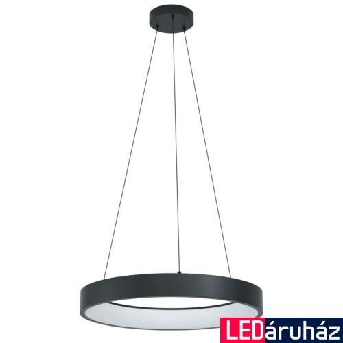EGLO 99027 MARGHERA-C 1 ágú függeszték, fekete, 27W, 3200 lm, 2700K-6500K szabályozható, beépített LED, IP20 + ajándék LED panel
