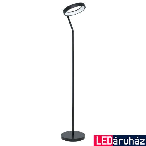 EGLO 99031 MARGHERA-C állólámpa, kapcsolóval, fekete, 16W, 2100 lm, 2700K-6500K szabályozható, fényerő szabályozható, beépített LED, IP20