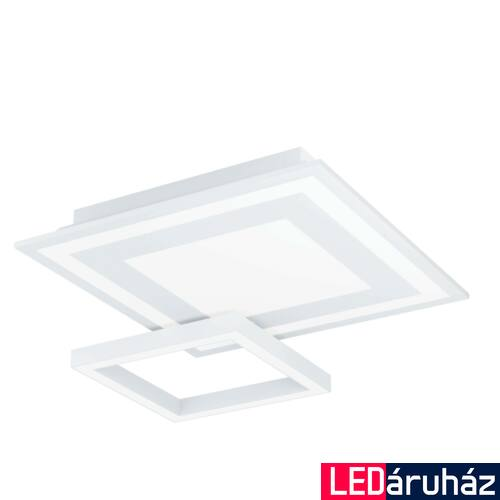 EGLO 99311 SAVATARILA-C mennyezeti lámpa, fehér, 20W, 2750 lm, 2700K-6500K szabályozható, fényerő szabályozható, beépített LED, IP20