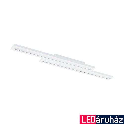 EGLO 99412 SALITERAS-C mennyezeti lámpa, fekete, 2X10W, 3200 lm, 2700K-6500K szabályozható, fényerő szabályozható, beépített LED, IP20