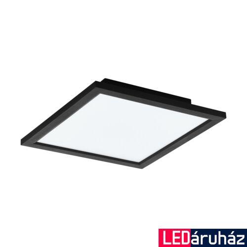 EGLO 99415 SALOBRENA-C LED panel, távirányítóval, fekete, 16W, 2000 lm, 2700K-6500K szabályozható, fényerő szabályozható, beépített LED, IP20, 300x300 mm