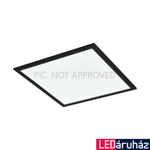 EGLO 99416 SALOBRENA-C LED panel, távirányítóval, fekete, 20W, 2800 lm, 2700K-6500K szabályozható, fényerő szabályozható, beépített LED, IP20, 450x450 mm