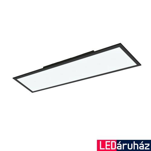 EGLO 99418 SALOBRENA-C LED panel, távirányítóval, fekete, 34W, 4300 lm, 2700K-6500K szabályozható, fényerő szabályozható, beépített LED, IP20, 300x1200 mm