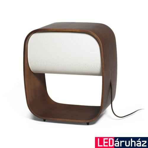 FARO 1968 asztali lámpa, fa, beépített LED, 8W, IP20, 28372