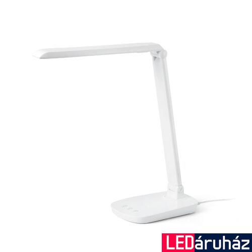 FARO ANOUK asztali lámpa, fehér, 4000K természetes fehér, beépített LED, 8W, IP20, 53414