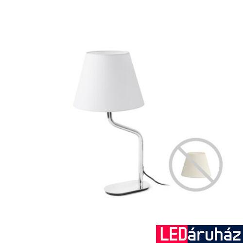 FARO ETERNA asztali lámpa, bura nélkül, króm, E27 foglalattal, IP20, 24008