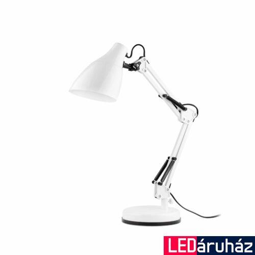 FARO GRU asztali lámpa, fehér, E27 foglalattal, IP20, 51916