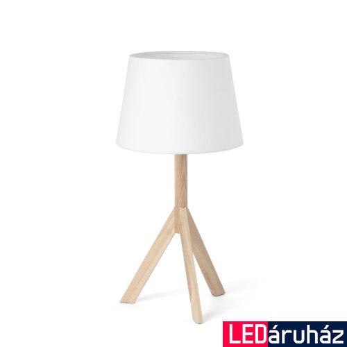 FARO HAT asztali lámpa, fehér, E14 foglalattal, IP20, 28408