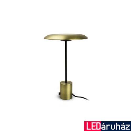 FARO HOSHI asztali lámpa, hordozható, fényerőszabályozható, arany, 3000K melegfehér, beépített LED, 12W, IP20, 28387