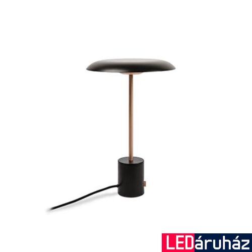 FARO HOSHI asztali lámpa, hordozható, fényerőszabályozható, fekete, 3000K melegfehér, beépített LED, 12W, IP20, 28388