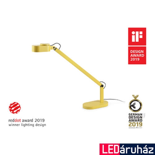 FARO INVITING asztali lámpa, sárga, 2700K-4800K szabályozható, beépített LED, 6W, IP20, 57308
