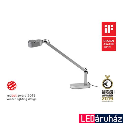 FARO INVITING asztali lámpa, szürke, 2700K-4800K szabályozható, beépített LED, 6W, IP20, 57311
